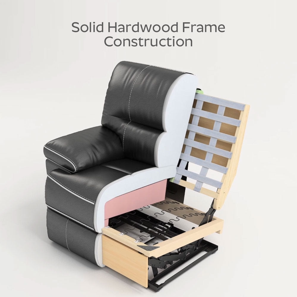 Solid Hardwood Frame Construction