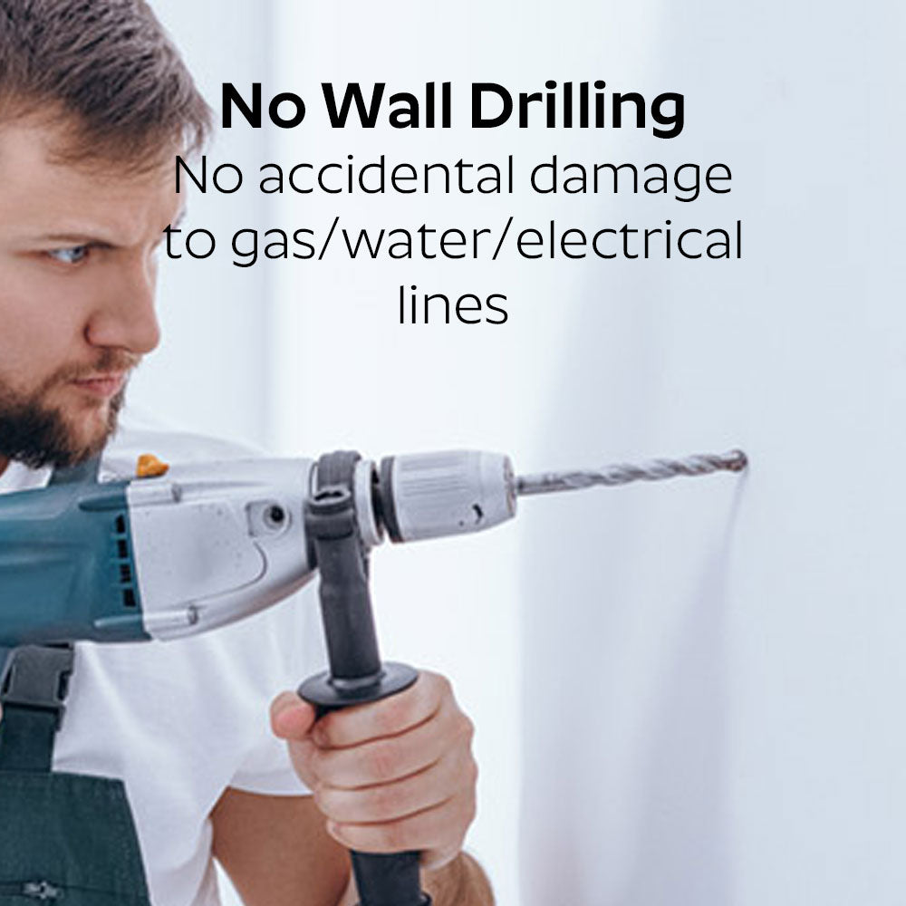 No Wall Drilling