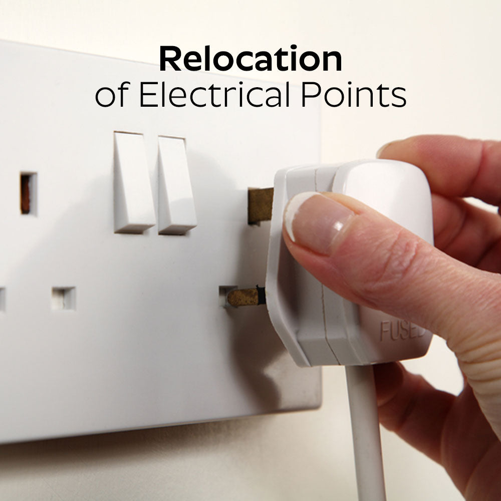 Relocation of Electrical Points