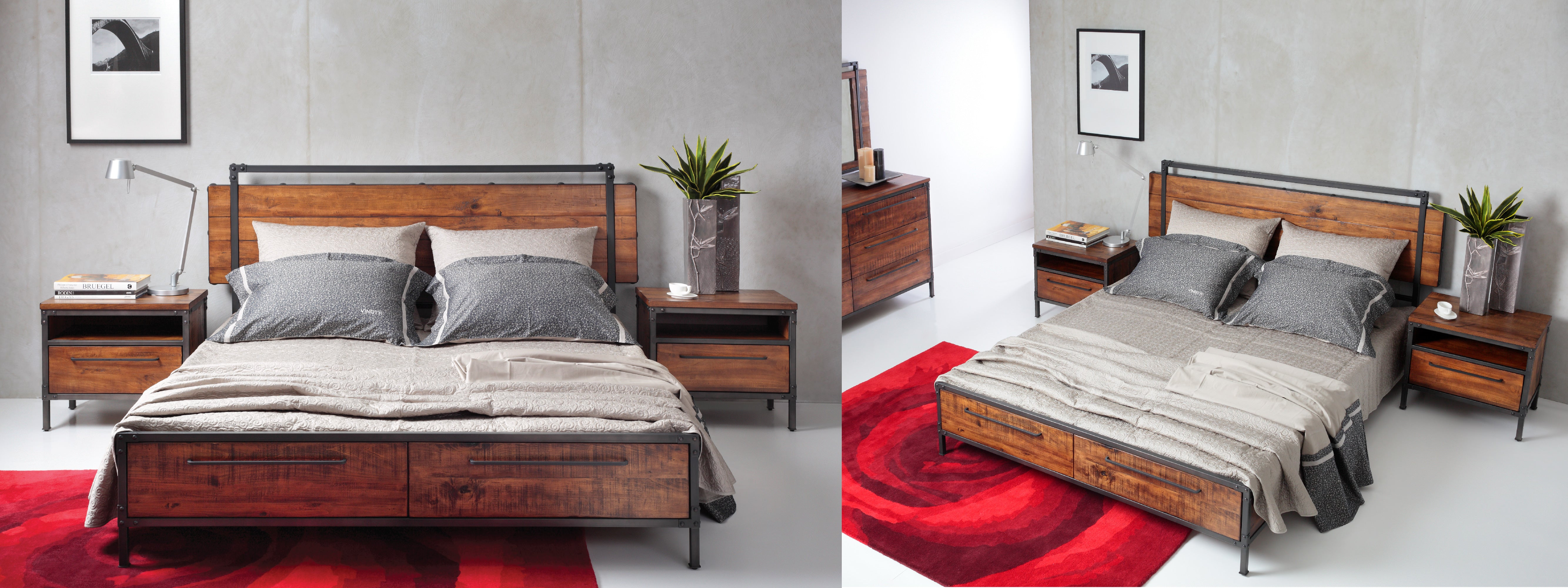 Chicago Queen Bed