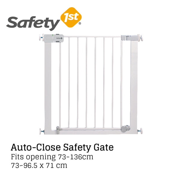 Safety 1st Auto Close Gate 73cm - White