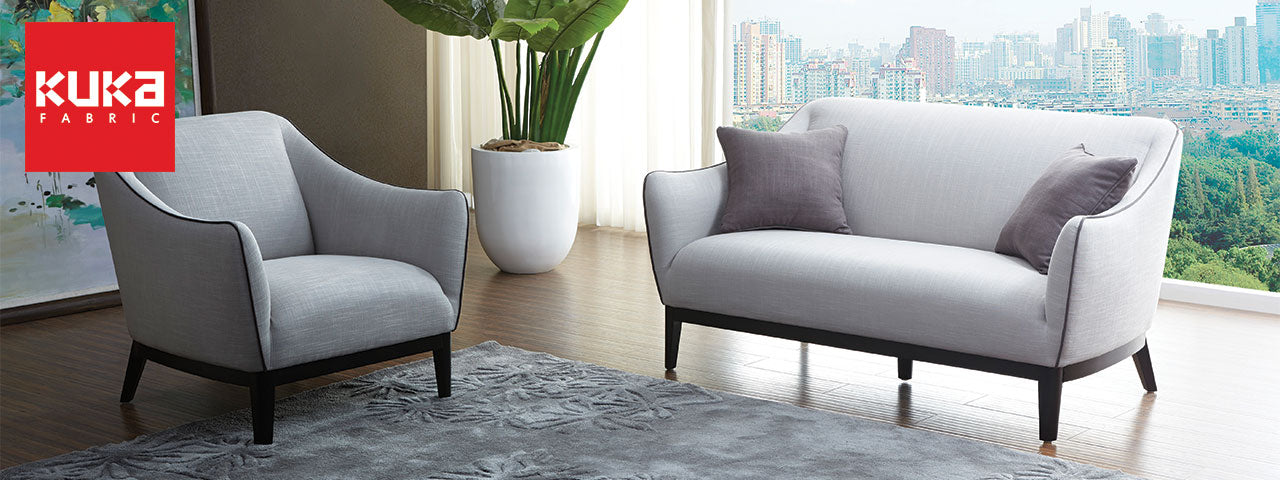 Kuka fabric sofas modern scandinavian designs picket for K furniture fabric world