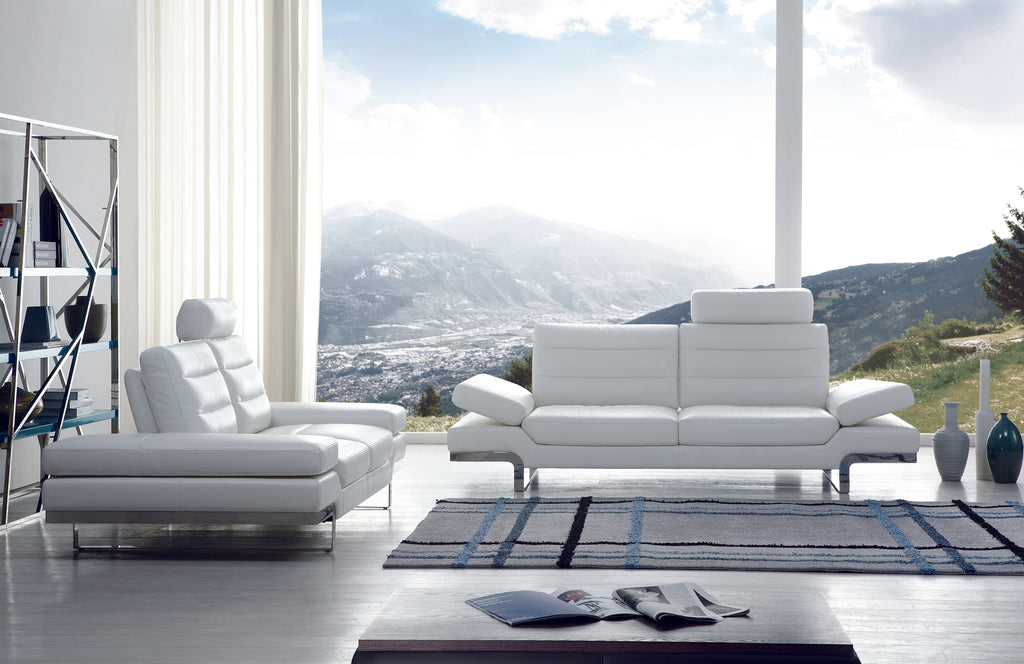 Kuka Leather Sofas Blend Function Technology Comfort And