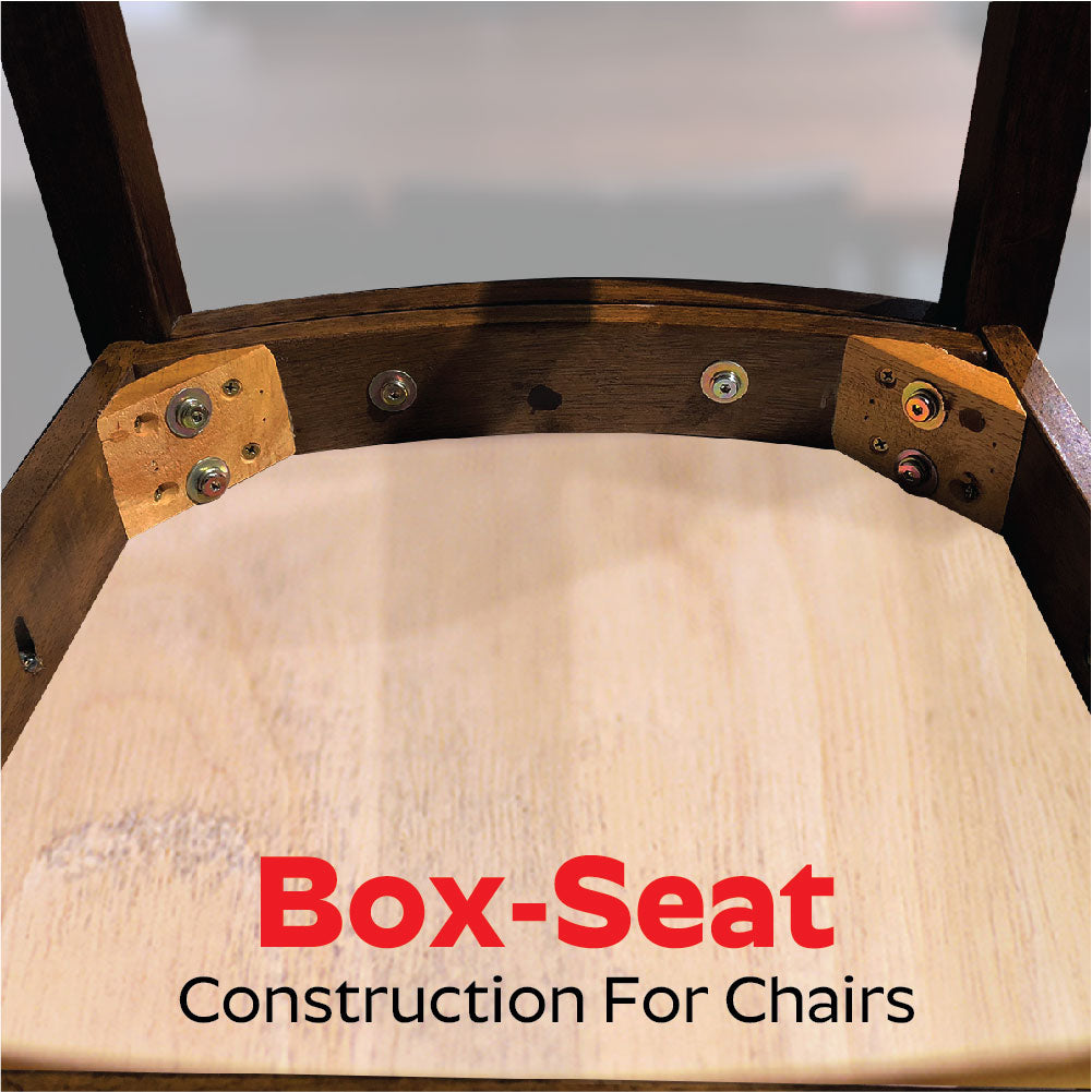 Box-Seat Construction For Chairs