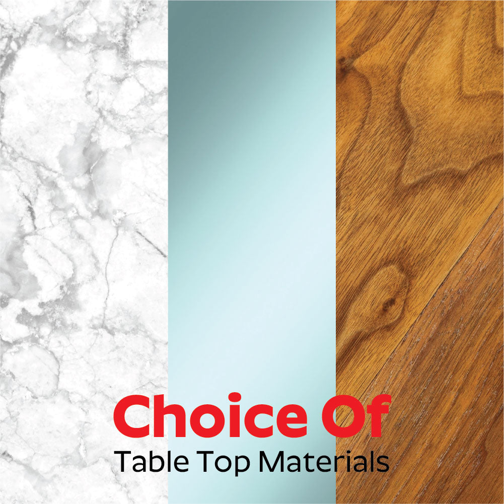 Choice Of Table Top Material