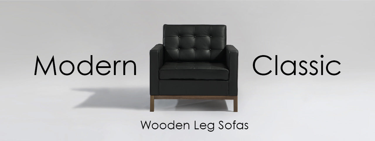 MC Wooden Leg Sofas