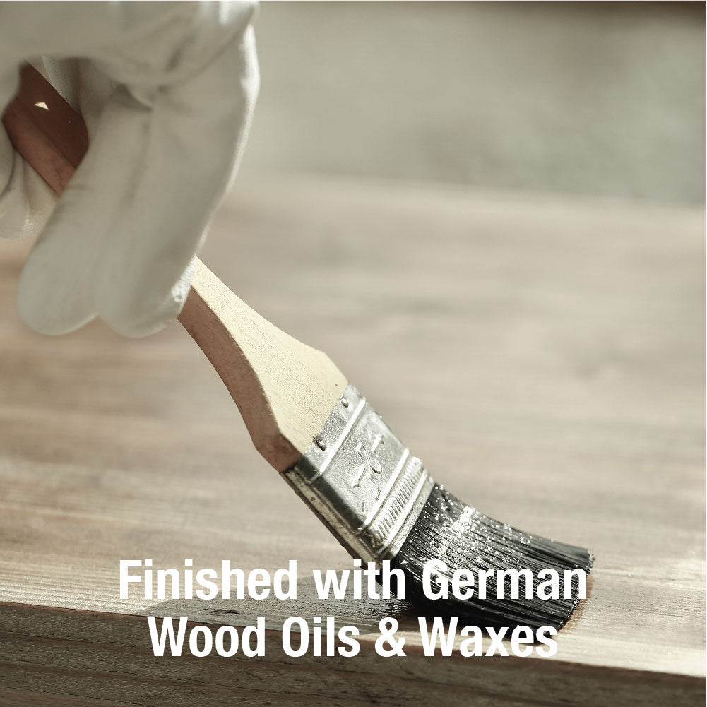 Finished with German Wood Oils & Waxes
