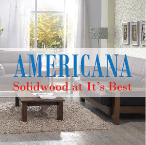 Solid Wood Sofa Americana