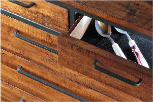Velvet-Lined Drawers