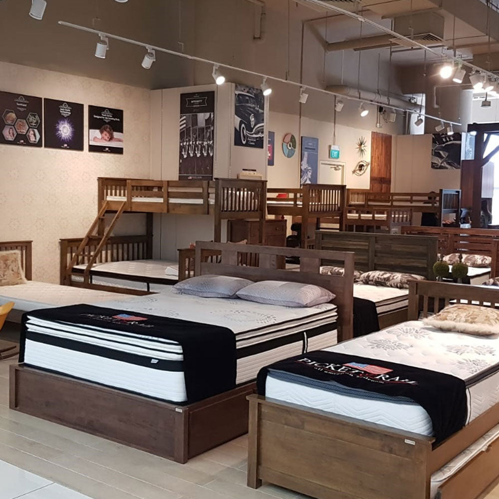 Picket&Rail Solid Wood Bedroom Furniture at City Square Mall ...