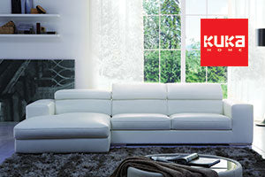 KUKA Premium Leather Sofas