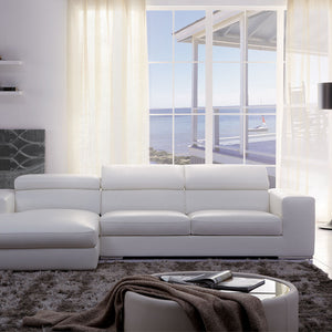 KUKA Designer Top Grain Leather & Fabric Sofas