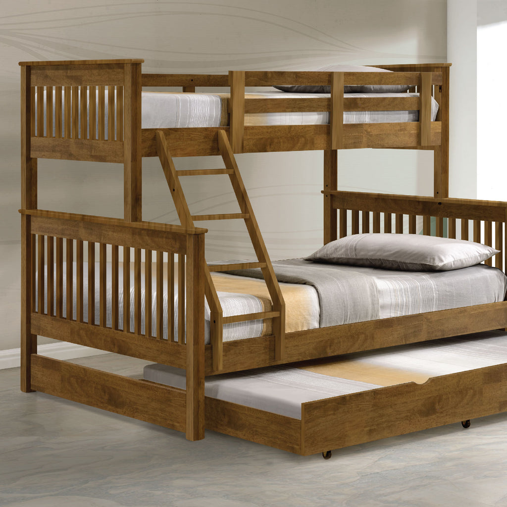 Americana Triple Bunk Bed with Trundle