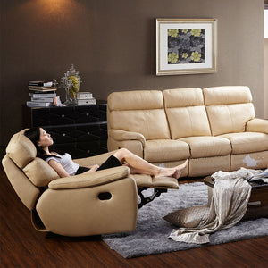 Kuka Leather Recliners by Picket&Rail