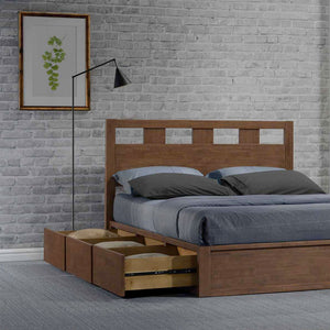 Picket&Rail Solid Wood Designer Storage Beds