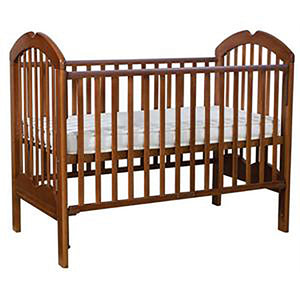 Anti-Microbial Solid Wood 4-in-1 Baby Cot 886 (130X70CM) COL: OAK
