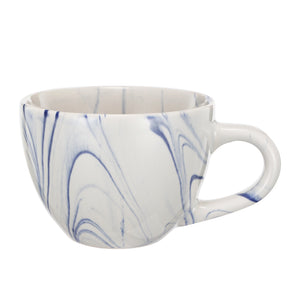 Accessories - AB-0259-Blue-Artist Fare  Cup & Saucer