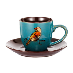 Accessories - AB-0294 -Exotic Melodies Cup & Saucer