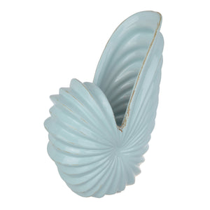 Accessories - AB-0688 -MARELLA SHELL SWEPT VASE, BLUE