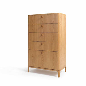 FLORENCE 5-Drawer Chest of Drawers (MCS-SD15222B-WAL)