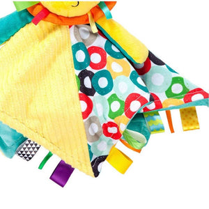 Bright Starts Cuddles & Tags Blankie Blanket - Lion $29.90 BS10213