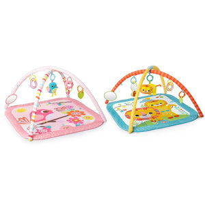 Bright Starts BS10260 Little Lions & Birds and Blooms Activity Gym Assortment