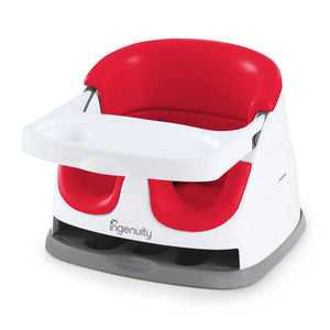 Ingenuity BS11577 BABY BASE 2-in-1- Poppy Red
