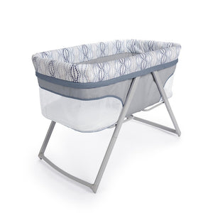 Ingenuity BS11659 Bassinet Foldaway Rocking BASSINET - Fletcher