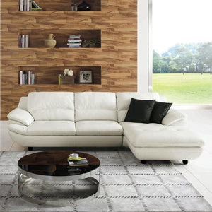 KUKA #1235 Leather Sofa (2/2.5/3-Seater, Chaise Lounge) - Picket&Rail Singapore's Premium Furniture Retailer