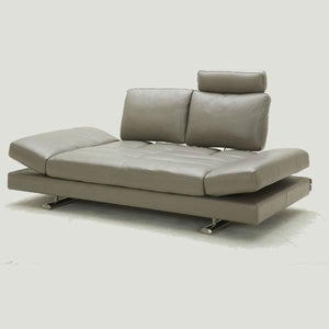 KUKA #1372 Half Leather Top-Grain Leather Daybed Sofa  ( O/NL Series ) (I)