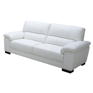 KUKA #1703 Full  Leather Sofa (1/2/3-Seater )( M Series )(I)
