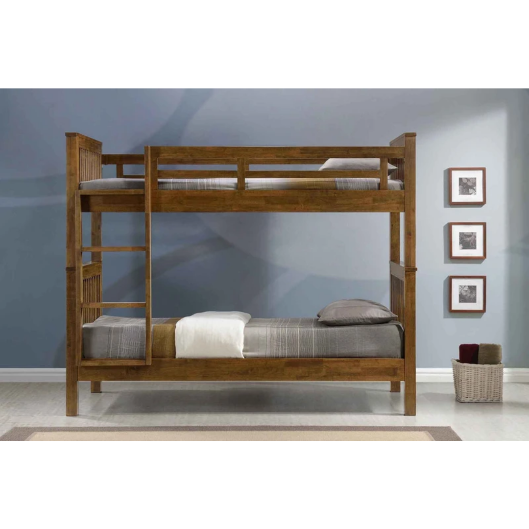 Americana Solid Wood Super Single Bunk Bed Singapore S No 1 Custom Solid Wood Furniture Baby Products Retailer