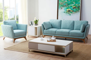 KUKA #1961B Fabric Sofa - (1 Seater,2 Seater,3 Seater,Ottoman) - Picket&Rail Singapore's Premium Furniture Retailer