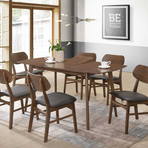 Sarah 1.2m Extendable Dining Set - Picket&Rail Singapore's Premium Furniture Retailer