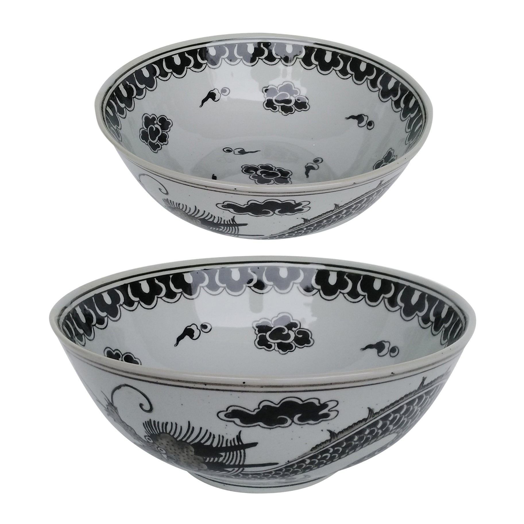 AB-2065 S/2 Dorete Nested Decorative Bowls