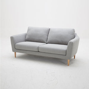 KUKA #2537 2-Seater Waterproof Fabric Sofa (Color: C-1075)