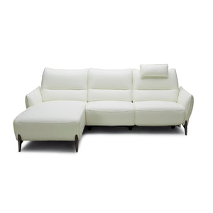 KUKA #2668 Half Leather Sofa (2/3-Seater, Chaise Lounge)( M Series )  (I)