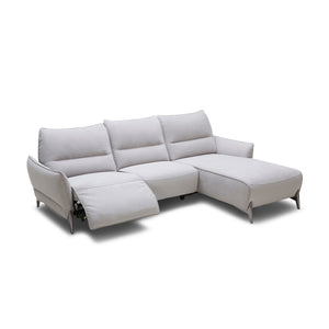 KUKA #2668 Full Leather Sofa (2/3-Seater, Chaise Lounge)( M Series )  (I)