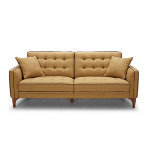 KUKA #2720 Half Leather Sofa (1/2/3-Seater/Ottoman)( O/NL Series )(I)