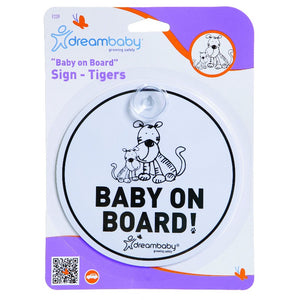 Dreambaby Baby on Board - Round DB00239