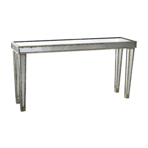 Accent Furniture - Waverly Mirrored Console Table, Narrow (31210)