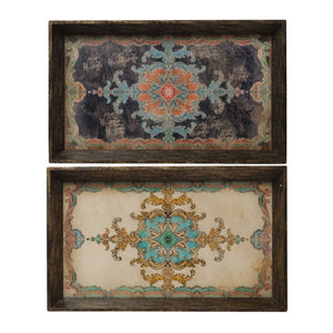 Decorative Tray Set of 2 (31283)