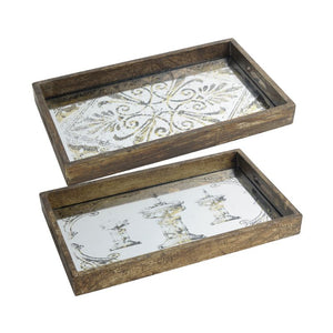 Decorative Tray Set of 2 (31967)