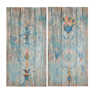 AB-32244 Gaia Estate Wood Art Panels
