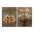 AB-36901 Grand Chandelier LED Wall Prints - Picket&Rail