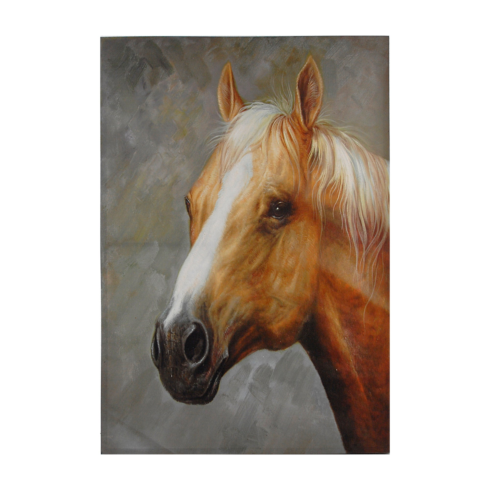AB-36907 Palomino Horse Canvas Print - Picket&Rail