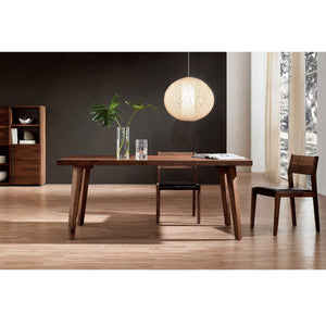 Norya 1.6m Pencil-Legged Dining Table (KBZTL02) - Picket&Rail Singapore's Premium Furniture Retailer