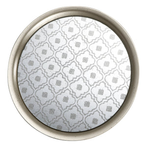 AB-39112 Metal/Glass Tray