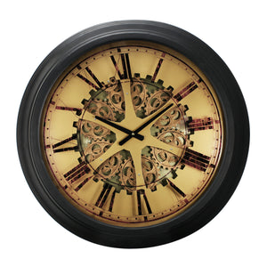 Clock - Classic Gears Wall Clock (AB-40050)