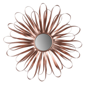 AB-40772 ROSELLE WALL MIRROR,RIBBON